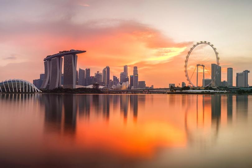 Singapore Marina area