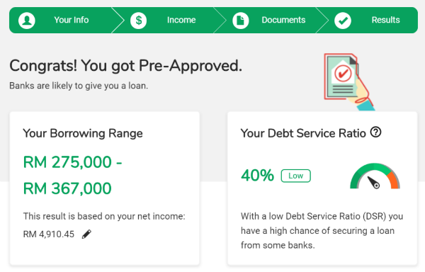PropertyGuru Loan Pre-Approval final report