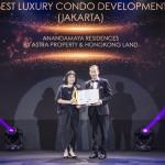 Anandamaya Residences yang Ikonik Menang 4 Penghargaan di PropertyGuru Indonesia Property Awards 2019