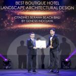 Genesis Indojaya Mengantongi Gelar Best Boutique Hotel Landscape Architectural Design