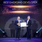 Astra Land Indonesia Kembali Raih Penghargaan Best Emerging Developer