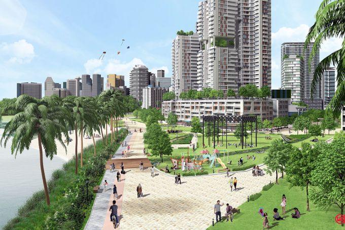 Kampong Bugis GLS white site condo