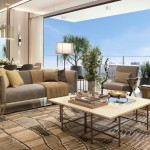 Sales galleries introduce high-end amenities to attract potential buyers