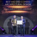 Vasaka Nines oleh Waskita Karya Realty Raih Penghargaan di PropertyGuru Indonesia Property Awards 2019 Dengan Pembangunan Apartemen Youthful