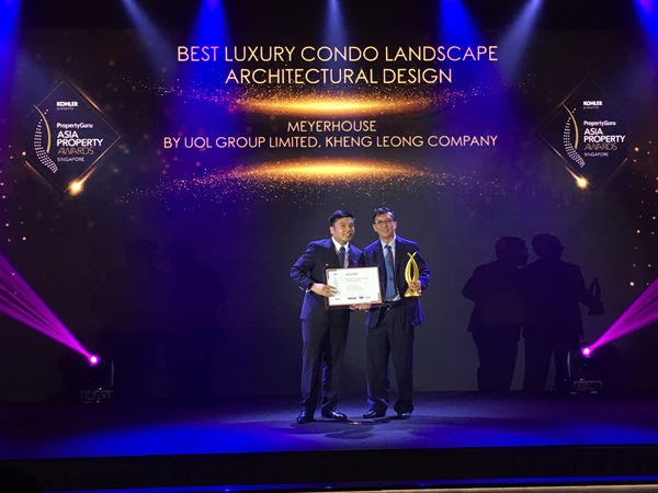Best Luxury Condo Landscape Architectural Design at PropertyGuru Asia Property Awards (Singapore) 2019