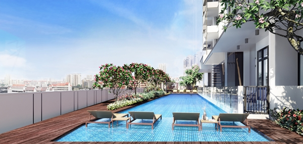 Swimming Pool At Uptown@Farrer
