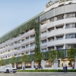 The Tedge in District 14 offers residential and commercial units