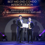 Springwood Residence Serpong Karya Triniti Dinamik Raih Penghargaan Best Mid End Condo Interior Design di PropertyGuru Indonesia Property Awards 2019