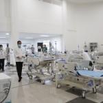 Jokowi Resmikan Wisma Atlet Kemayoran Jadi Rumah Sakit Darurat Covid-19