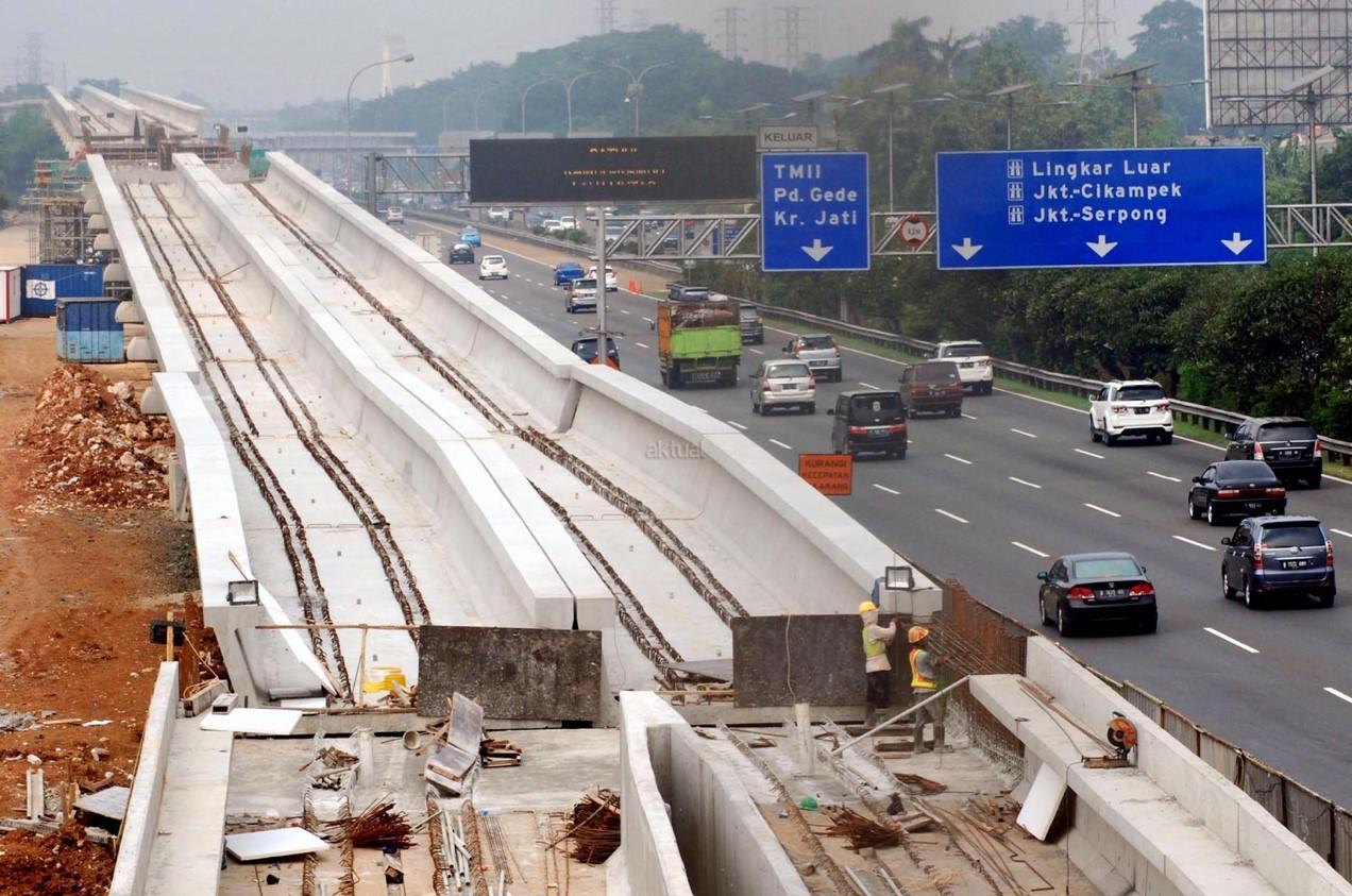 Berlanjutnya Proyek LRT JABODEBEK Oleh PT Adhi Karya