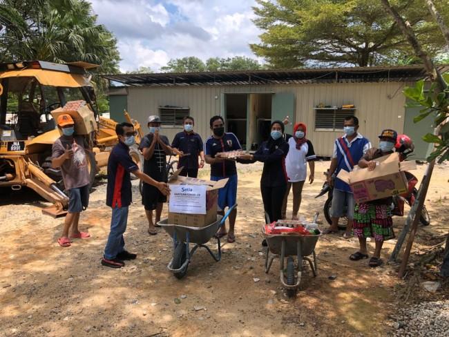 S P Setia Initiates Setia Food Aid Humanitarian Effort