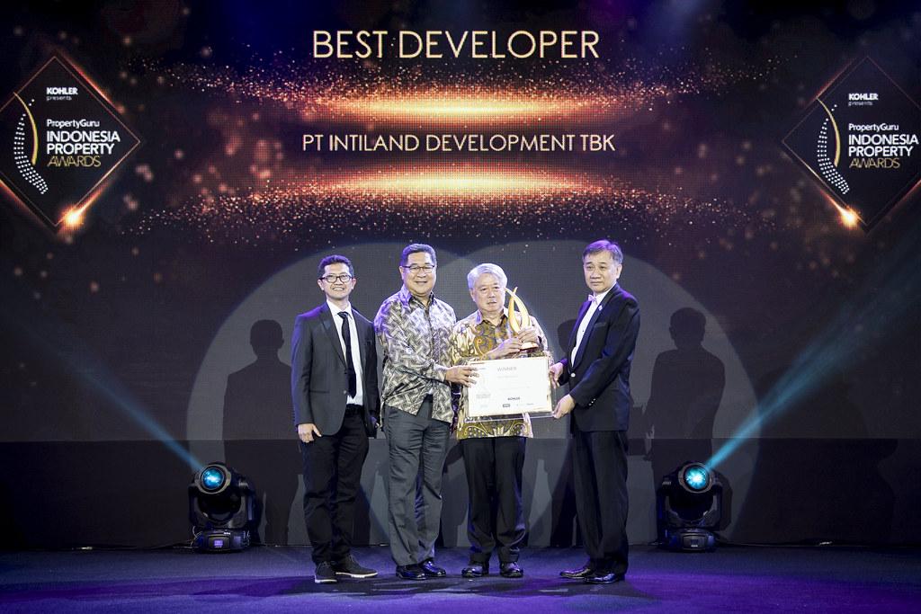 PT Intiland Development Tbk di Ajang Indonesia Propert Awards 2019