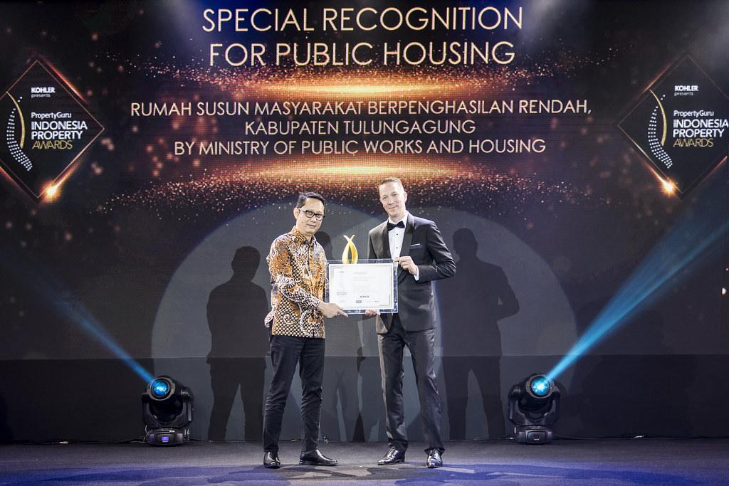 Kementrian Pekerjaan Umum dan Perumahan Rakyat di Ajang Indonesia Property Awards 2019