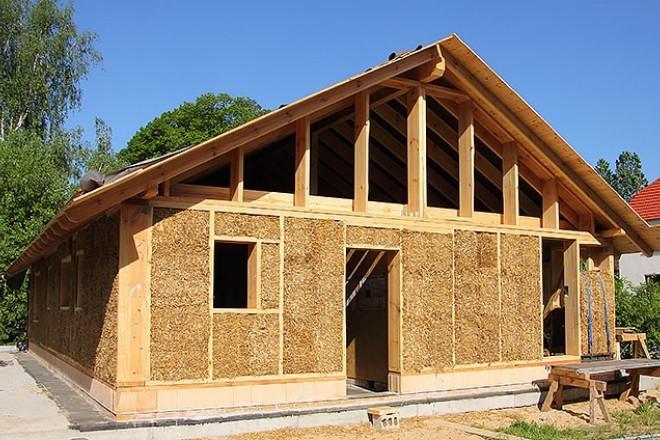 material bahan bangunan ramah lingkungan Batang Jerami