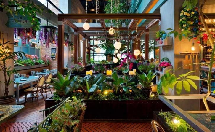 Kebun sayur indoor