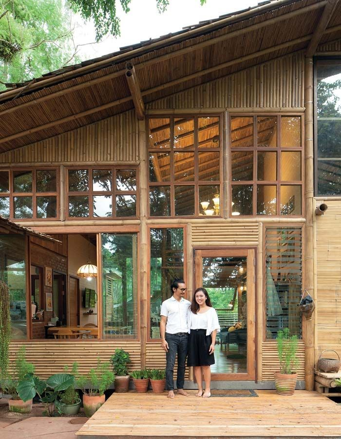 Material Bahan Bangunan dari bambu