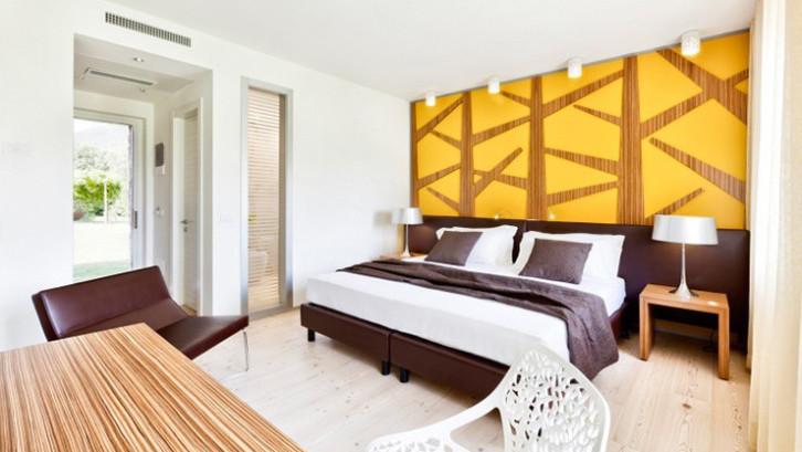 membuat rumah mirip hotel Kombinasi warna