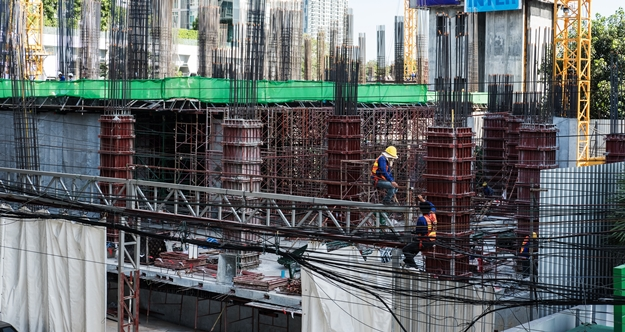 New project in bangkok is decrease after covid