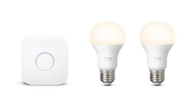 lampu LED terbaik 2020 Philips Hue White Starter Kit