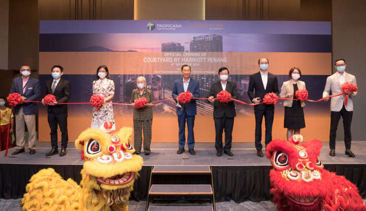 TROPICANA TEAMS UP WITH MARRIOTT INTERNATIONAL TO LAUNCH COURTYARD BY MARRIOTT IN PENANG