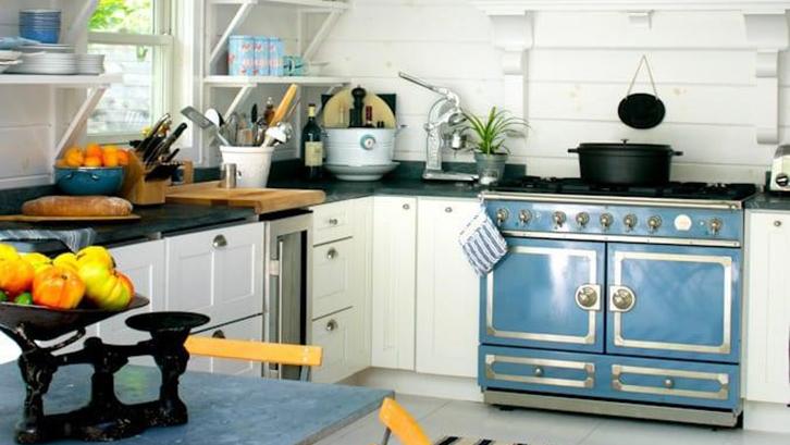 Tambahkan peralatan dapur yang berwarna