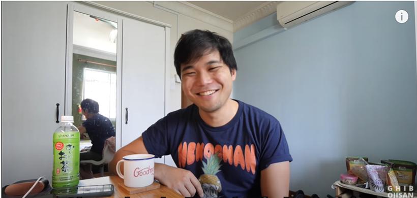 Japanese YouTuber based in Singapore Ghib Ojisan