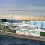 Construction Work on Tuas Nexus Facility, Singapore's First Integrated Water and Solid Waste Treatment Facility