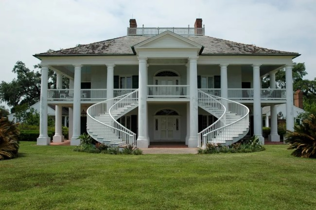 Southern Architecture, Rumah Kebun Khas Amrik