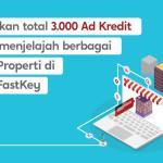 3000 Ad Kredit untuk Dimenangkan, dengan Menemukan Proyek di Proyek FastKey