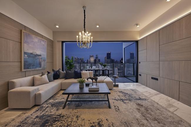 The Landmark 3 bedroom - Living room