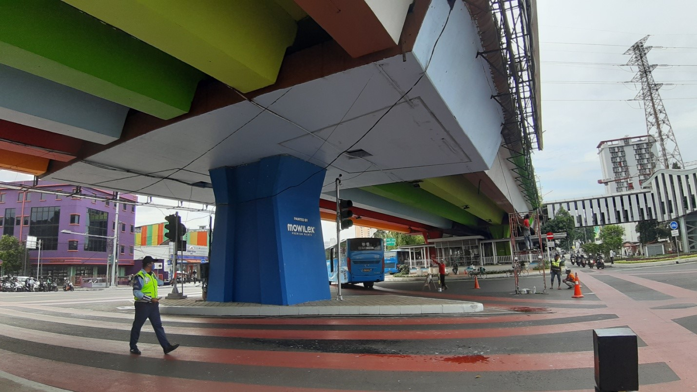 Begini Wajah Simpang Senen Setelah Direvitalisasi
