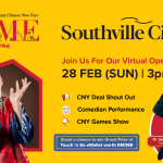 """Mah Sing Southville City Is Giving Out Cny Touch 'N Go Angpow Via Virtual Game Show At """"Home With Mah Sing"""""""