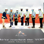 Ativo Suites Celebrates Major Construction Milestone With Topping-Out Ceremony