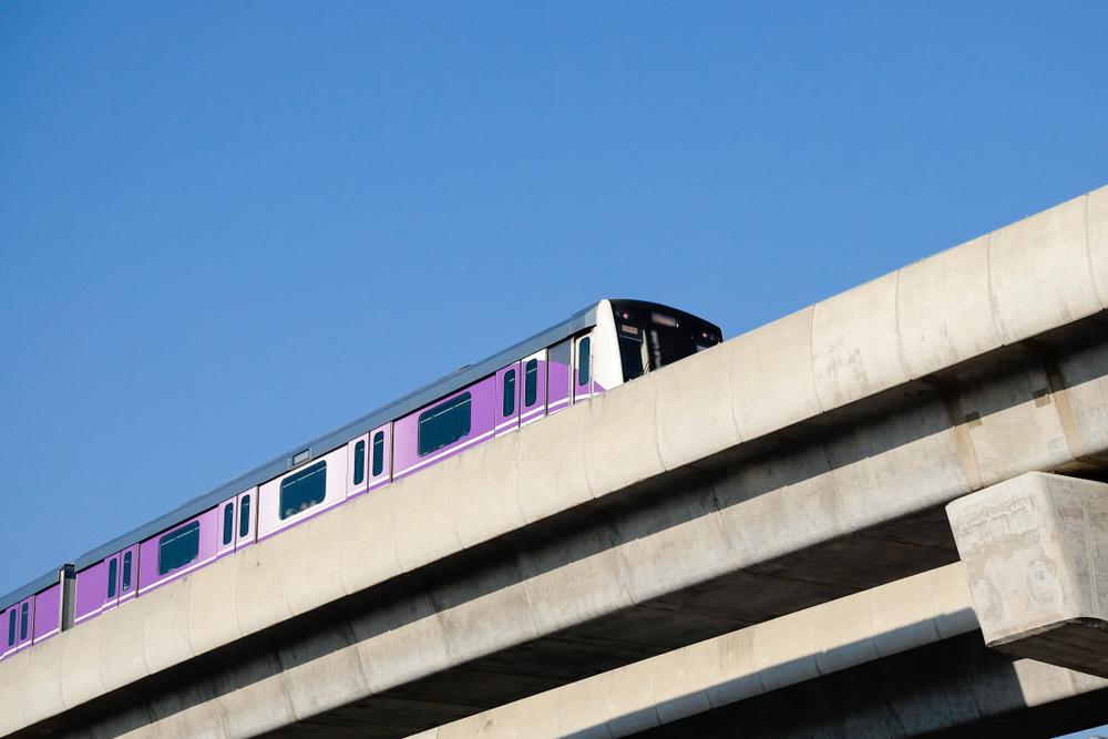 Transit,Authority,(mrta),Or,Mrt,Purple,Line,Bang,Yai-tao,Poon