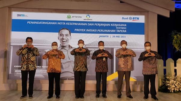 Tahap Pertama Tapera Salurkan 11 Ribu Unit, Jalin Kolaborasi Pengembang Hingga Perbankan