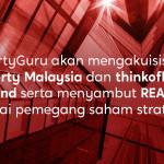 PropertyGuru akan mengakuisisi iProperty dan thinkofliving Thailand serta menyambut REA Group sebagai pemegang saham strategis