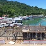 Pos Lintas Batas Negara Di Natuna Ini Dibangun Di Atas Laut