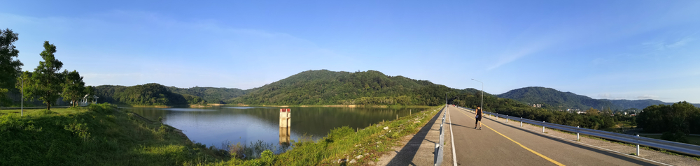 A,Panoramic,View,Of,Bang,Wad,Dam