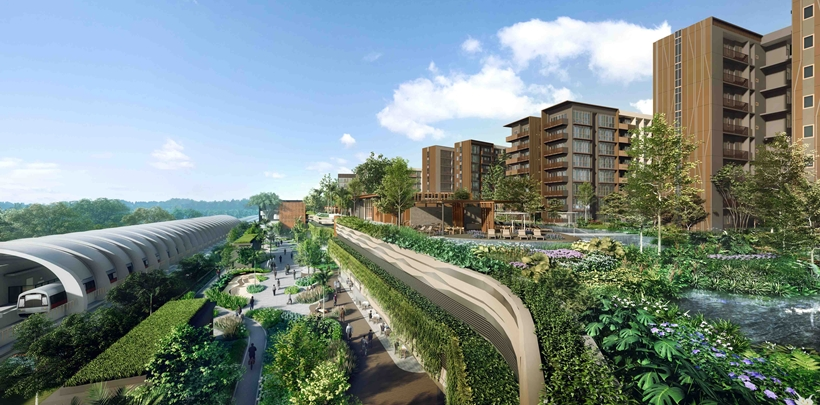 Allgreen-Kerry joint ventures secure $861.75mil green loan for Pasir Ris 8