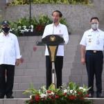 Presiden Jokowi Resmikan Rusun 25 Lantai Pasar Rumput