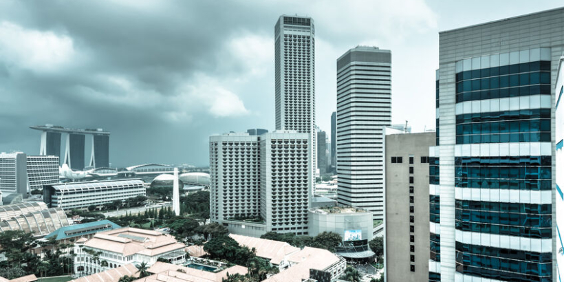 dowtown core area singapore