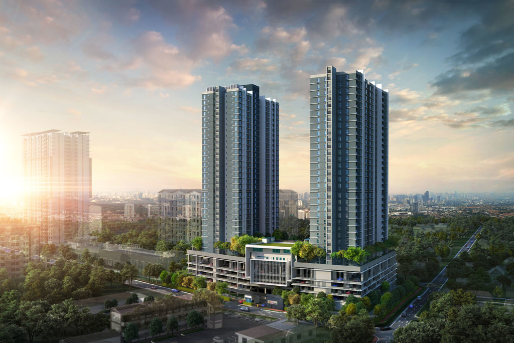 121 Residences is developed by Glomac Bhd, and located in the heart of PJ-Damansara.