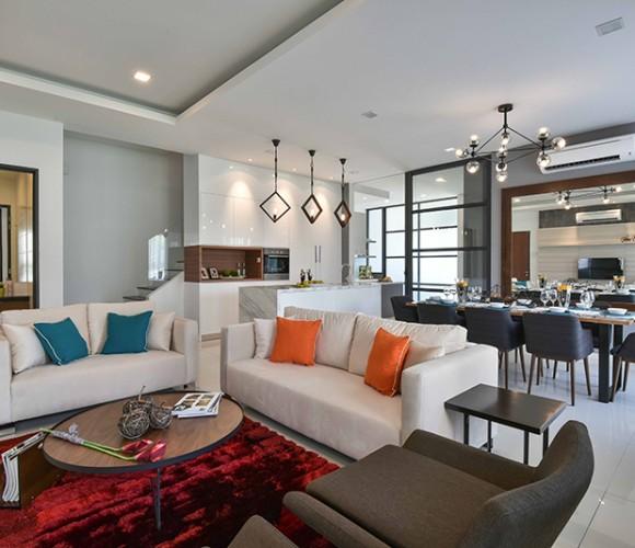 Nice-Style-Refurbishment-MKH-Kajang-East-Living-Room-Dining