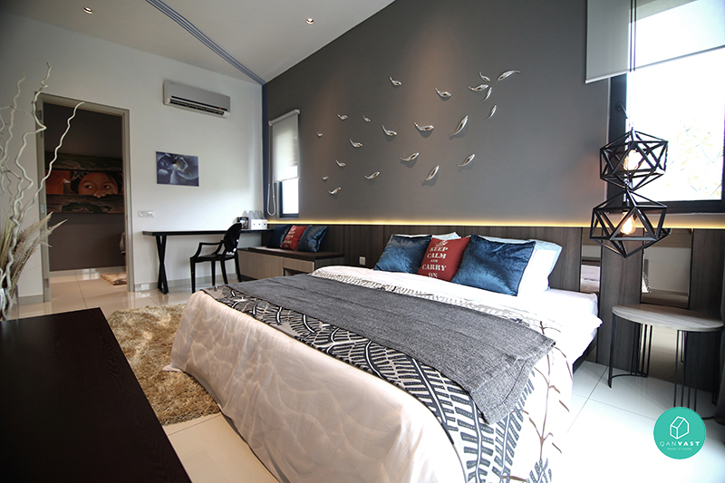 Master Bedroom Feature Wall Ideas