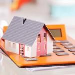 Conceptual Miniature Home on a Calculator Device