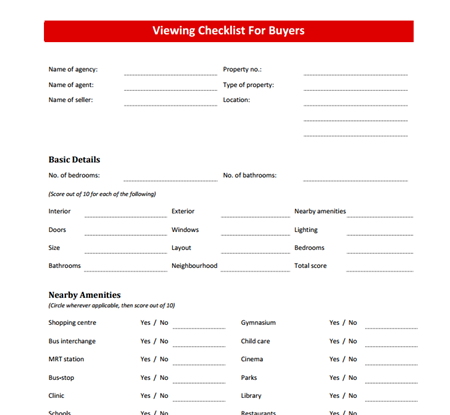 Click on the image to see the full checklist.