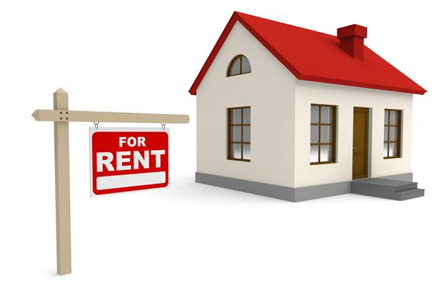 11740050 - house for rent. 3d rendered image