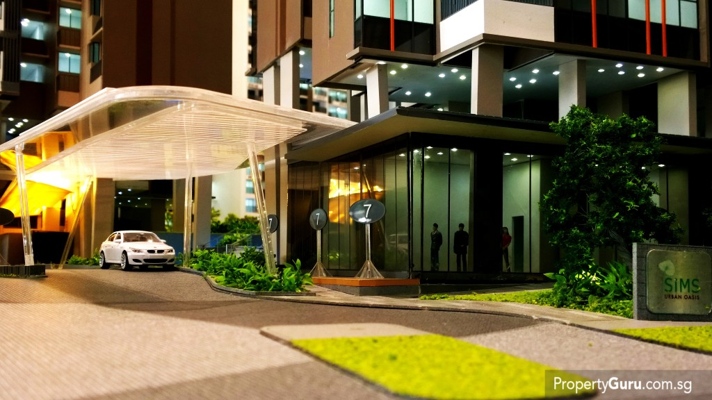 Sims Urban Oasis