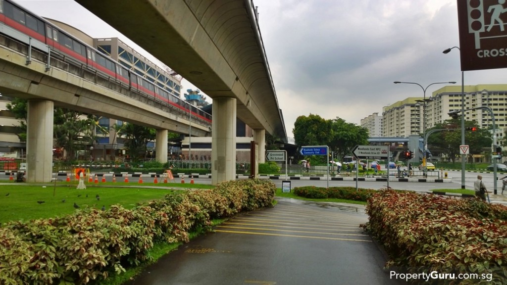 Admiralty MRT Station and integrated centre