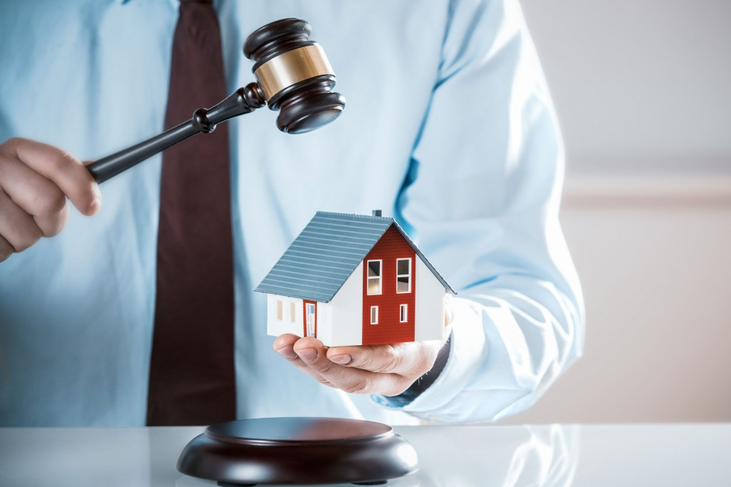 Property auctions can be discovered by joining banks and agency's mailing lists